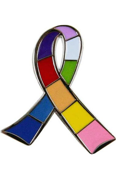 Awareness Multi Ribbon Pin, , large