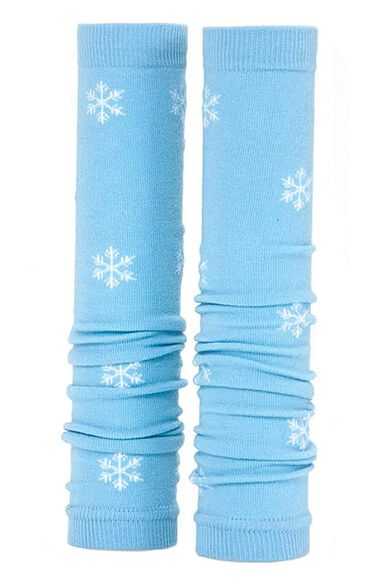 Women's Blue with White Snowflakes, , large