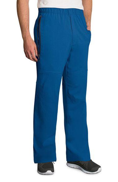 Clearance Men's Jake Drawstring Zip Front Scrub Pant, , large