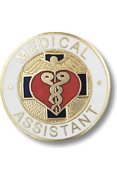 Emblem Pin Medical Assistant, , large
