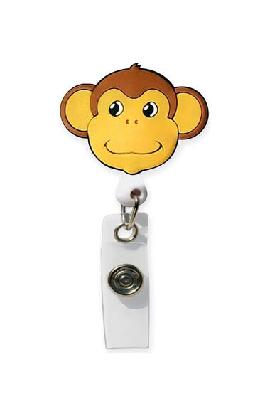 Clearance Retractable Rubber Badge Reel, , large