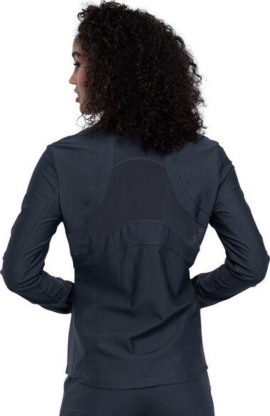 Women's Zip Front Scrub Jacket, , large