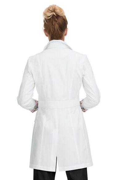 "Women's Geneva with Contrast 35¾"" Lab Coat, , large"