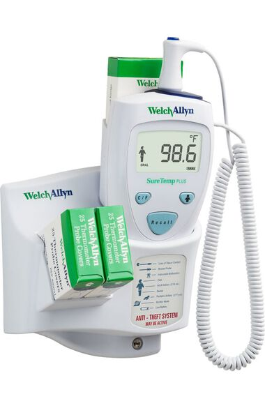 Suretemp 690 Electronic Thermometer with Oral Probe Model 01690-201, , large