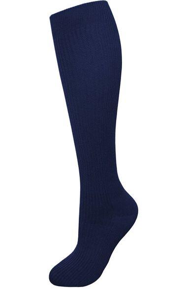 Unisex Long Nurse 10 mmHg Compression Sock, , large