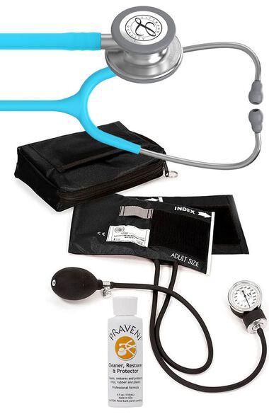 Classic III Stethoscope, Prestige Sphygmomanometer with Case & Praveni Kit, , large