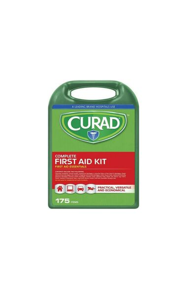 175 Piece Hospital Style Curad First Aid Kit, , large