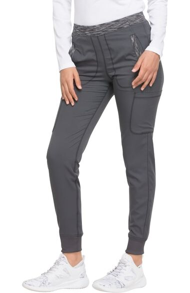 Women's Tapered Leg Drawstring Jogger Scrub Pant, , large