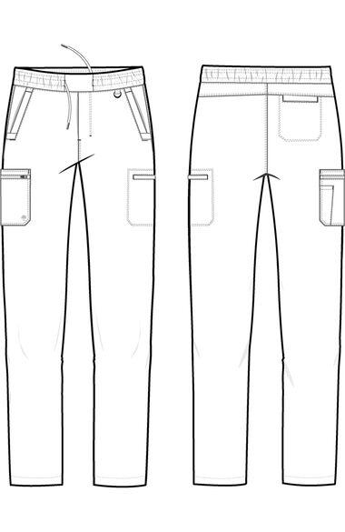 Men's Daniel Utility Cargo Scrub Pant, , large