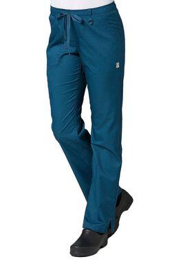 Women's COOLMAX Elastic Waistband Cargo Scrub Pant
