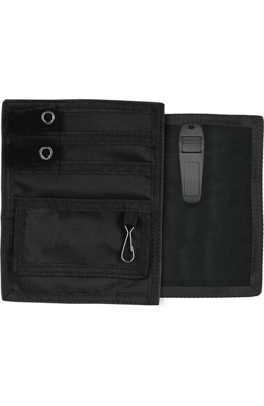 Nylon Organizer with Matching Hook-And-Loop Fastener Tabs and Belt Clip, , large
