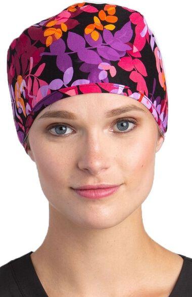 Women's Scarlett Print Scrub Hat, , large