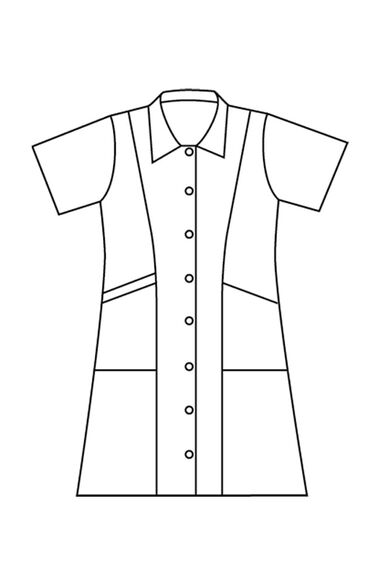 Clearance Women's Student Scrub Dress, , large