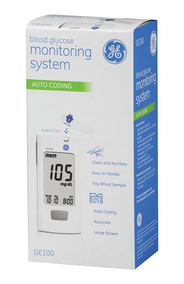 GE Blood Glucose Monitoring System, , large