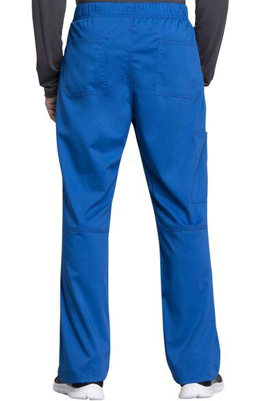 Men's Zip Fly Drawstring Cargo Scrub Pant, , large