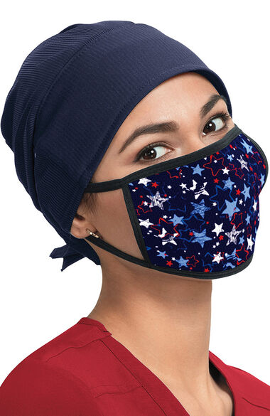 Women's Filtered Print Fabric Masks, , large