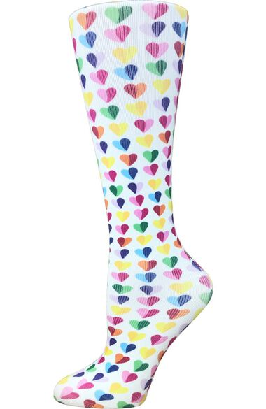 Women's Wide 10-18 Mmhg Compression Sock, , large