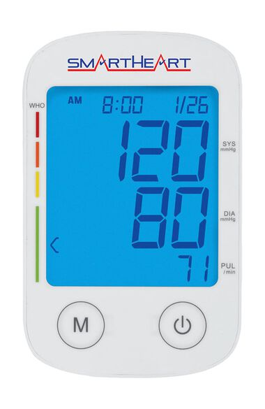 SmartHeart Large Adult Cuff Automatic Arm Blood Pressure Monitor, , large