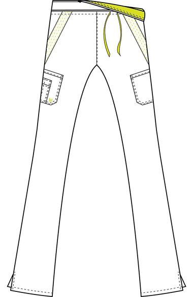 Clearance Women's Rebecca Ultra Contrast Drawstring Waist Scrub Pant, , large