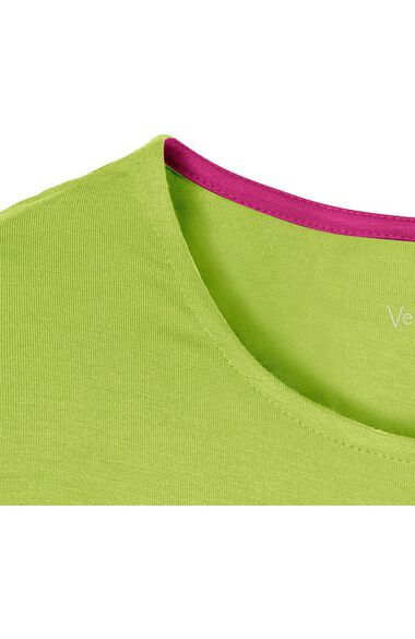 Clearance Women's Coco Knit Long Sleeve Solid Underscrub T-Shirt, , large