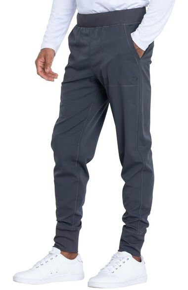Men's Drawstring Waistband Jogger Scrub Pant, , large