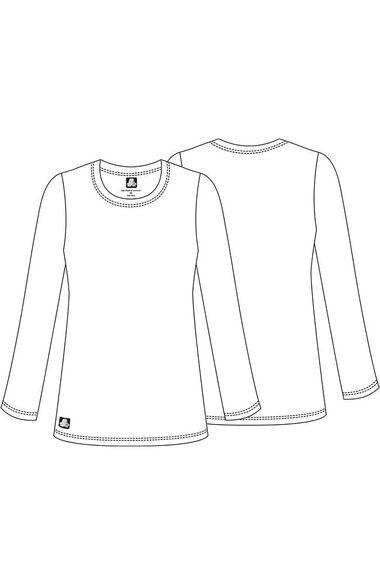 Women's Crew Neck T-Shirt, , large