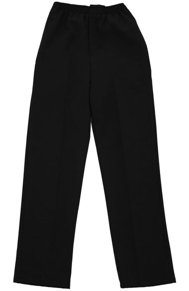 Silvert's Men's Open Back Gabardine Solid Pant, , large