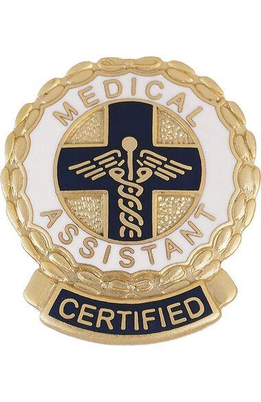 Emblem Pin Certified Medical Assistant, , large