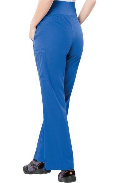 Clearance Women's Soft Knit Waistband Maternity Scrub Pant, , large