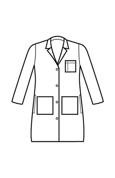 "Women's Stretch Twill 38"" Lab Coat, , large"