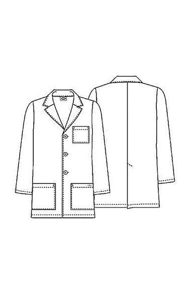 """Men's 31"""" Lab Coat, , large"""