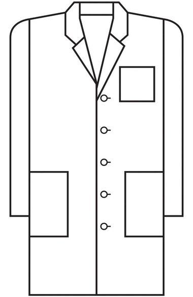 """Men's 38"""" Lab Coat, , large"""