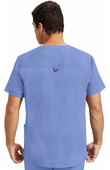 Men's Jake Solid Scrub Top, , large
