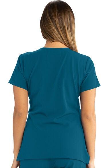 Women's Reliance Solid Scrub Top & Cargo Scrub Pant Set, , large