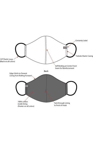 Unisex Certainty Face Mask 5 Pack, , large