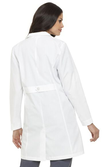 "Clearance Women's Four Button 38"" Lab Coat, , large"