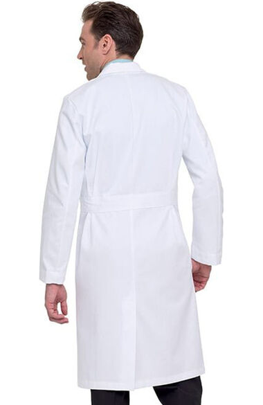 "Men's 3-Pocket Full Length Twill 43½"" Lab Coat, , large"