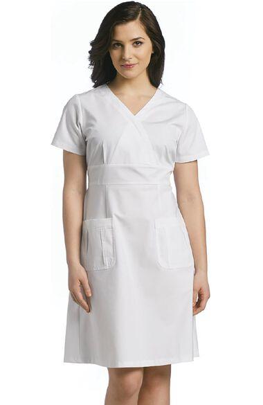 Women's A-Line Scrub Dress, , large