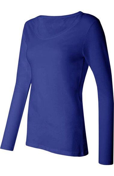 Women's Silky Long Sleeve Underscrub T-Shirt, , large