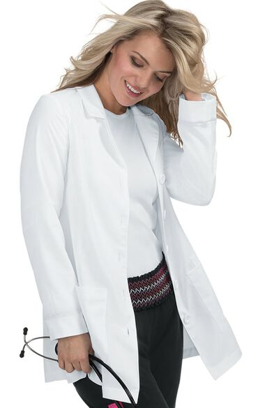 Women's Marigold Lab Coat, , large