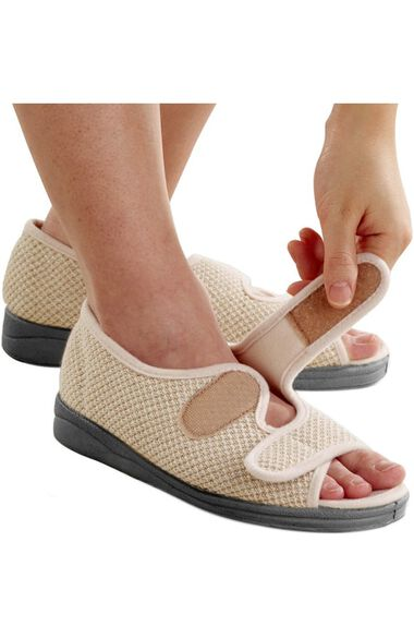 Clearance Silvert's Women's Comfort Solid Sandal, , large