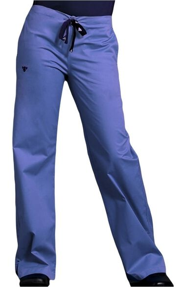 Women's Drawstring Scrub Pant, , large