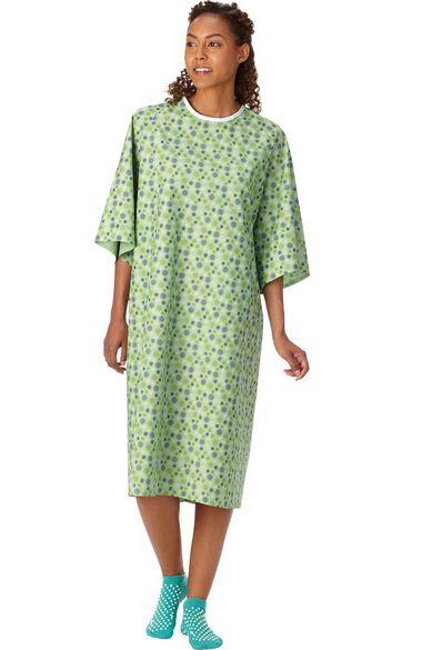 Unisex Starburst Print Patient Gown 60 Pack, , large