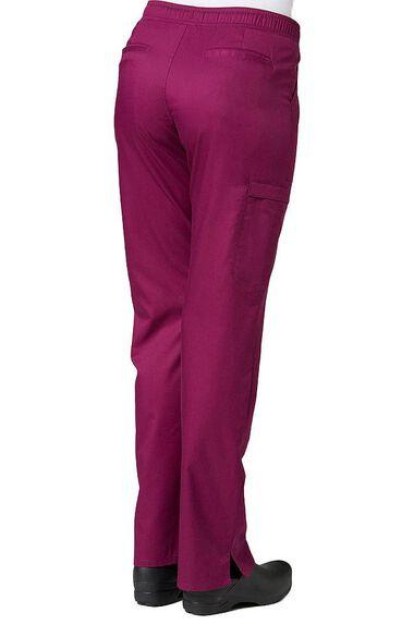 Women's COOLMAX Elastic Waistband Cargo Scrub Pant, , large