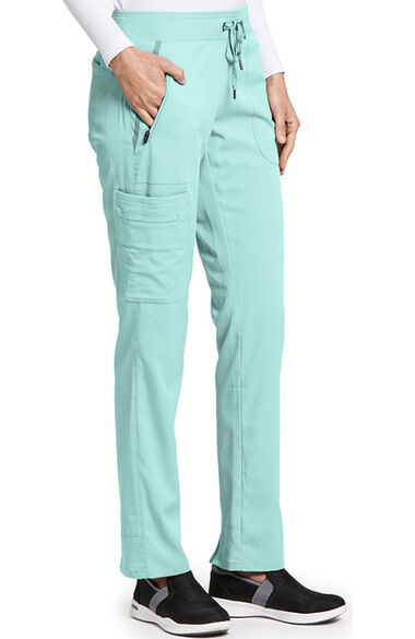 Clearance iMPACT by Grey's Anatomy Women's Drawstring Cargo Scrub Pant, , large