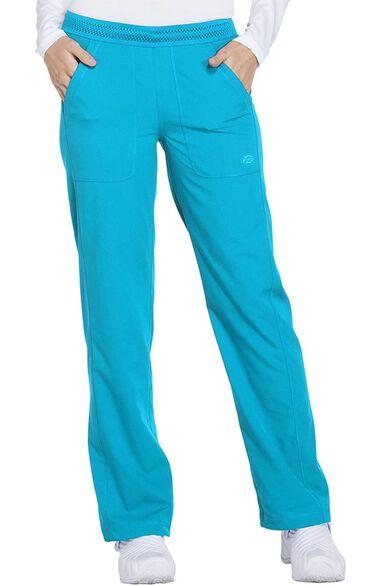 Clearance Women's Mesh Waistband Convertible Leg Scrub Pant, , large