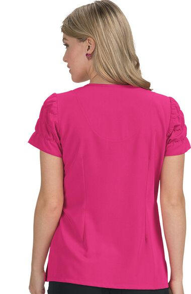 Clearance Women's Magnolia Solid Scrub Top, , large