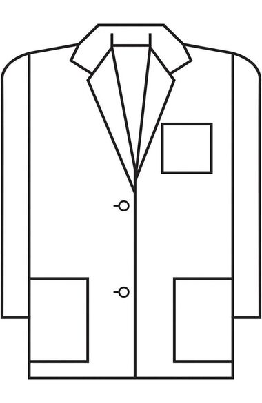"Women's 3-Pocket Consultation 28"" Lab Coat, , large"