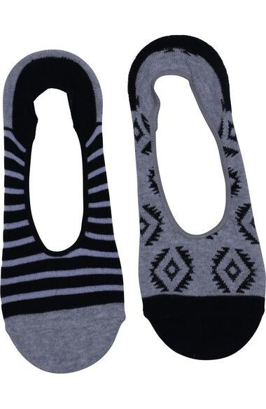 Clearance Women's 3 Pack Of Peek A Boo Fashion Print Sock Set, , large