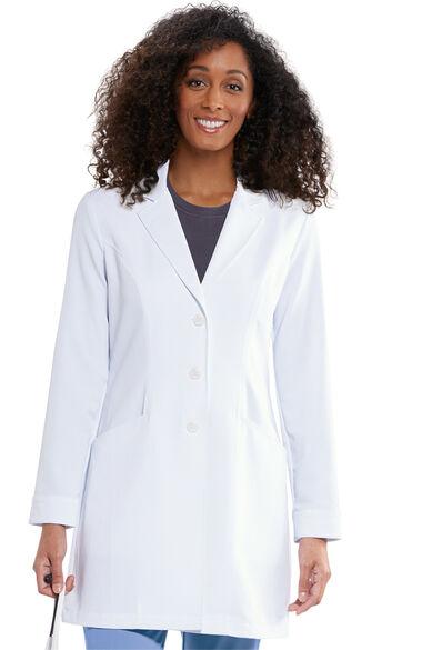 "Signature by Grey's Anatomy Women's 34"" Consultation Lab Coat, , large"